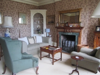 Drawing room for guests